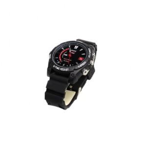 hidden Spy Watch Cameras - Full HD IR Night Vision Waterproof Sports Watch with Digital Video Recorder (4GB)