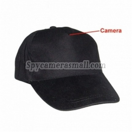 Wearing Class Hidden Spy Camera - 2.4GHz FM wireless Hat Hidden Camera