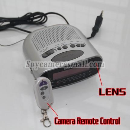 Clock Radio Spy Camera HD Motion Activated 16GB 1920X1080
