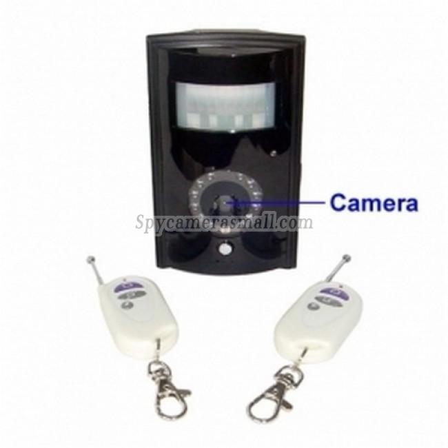 spy cameras - Infrared PIR Detector Style GSM Remote Camera with Remote Control