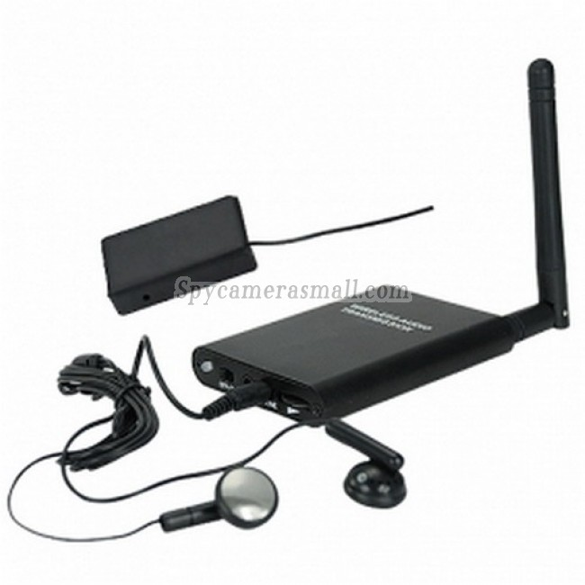 Professional Grade Long Distance Audio Bug with Phone Transmitter - Professional Grade Long Distance Audio Bug with Phone Transmitter