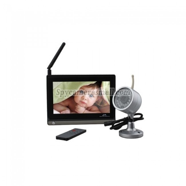 Baby spy camera - 7 Inch Baby Monitor (1 Wireless Night Vision Camera + Remote Control)