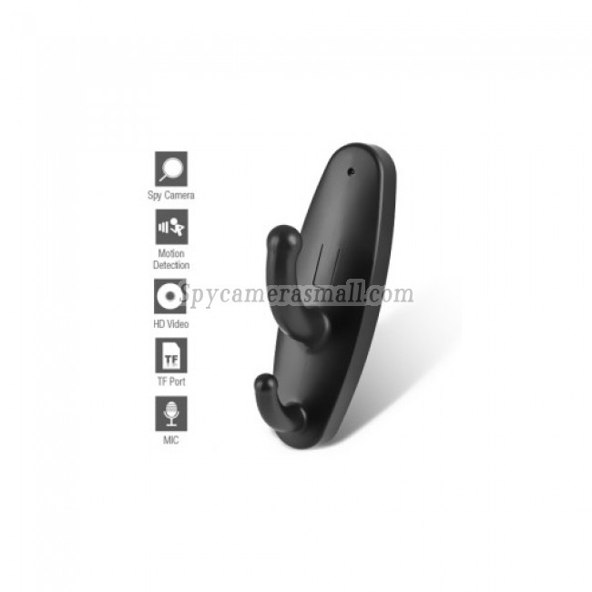 spy camera expert - Motion Detector Clothes Hook Style HD Spy Camera