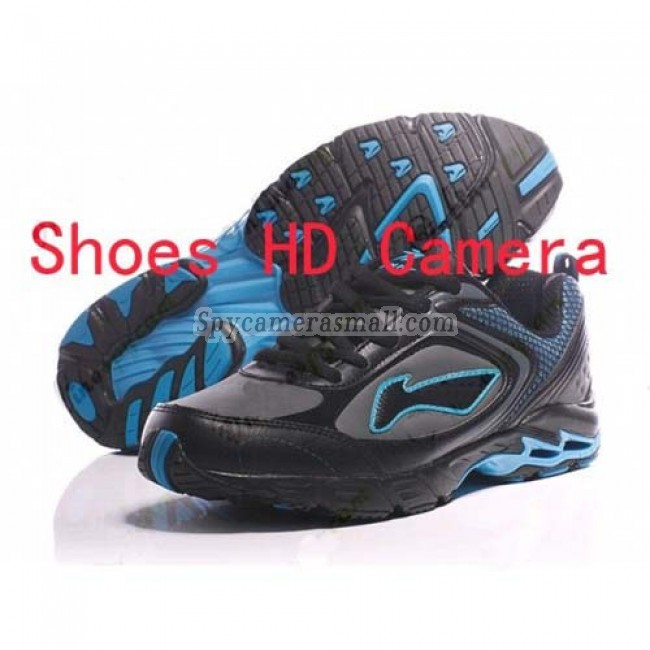 Hidden Spy Shoes Camera with portable recorder - Spy Men Shoe Hidden CCD DVR Camera Recorder With 2.5 inch HD LCD screed