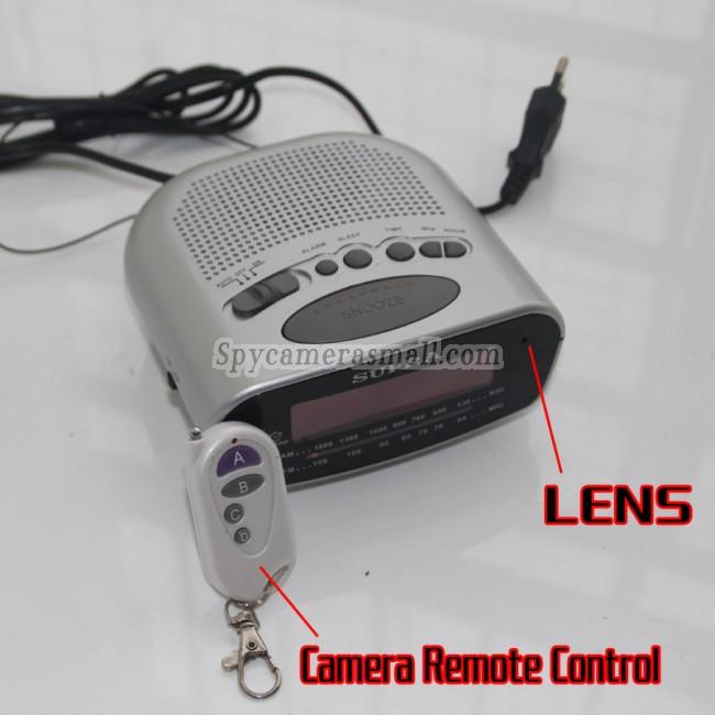 Spionkamera-ur radio 1080P DVR 16G HD Bevægelsesdetektion bedste spionudstyr