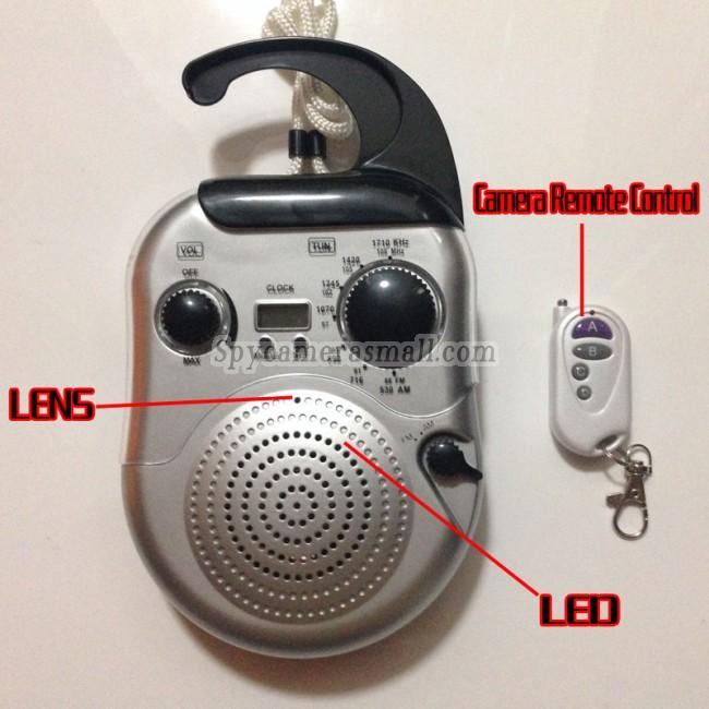 kompaktkamera HD til radio 720P DVR 16G Bevægelsesdetektion bedste spionudstyr