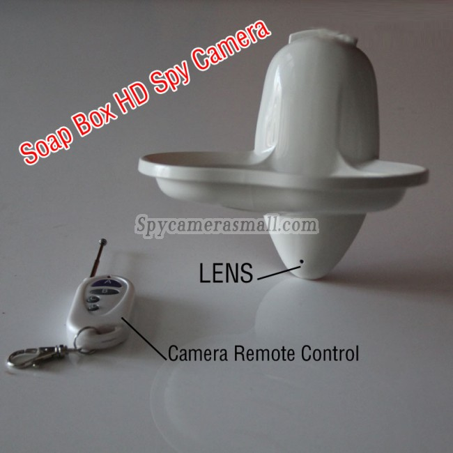 spion kamera hd til sæbeboks 1080P DVR 32G HD Bevægelsesdetektion bedste spionudstyr