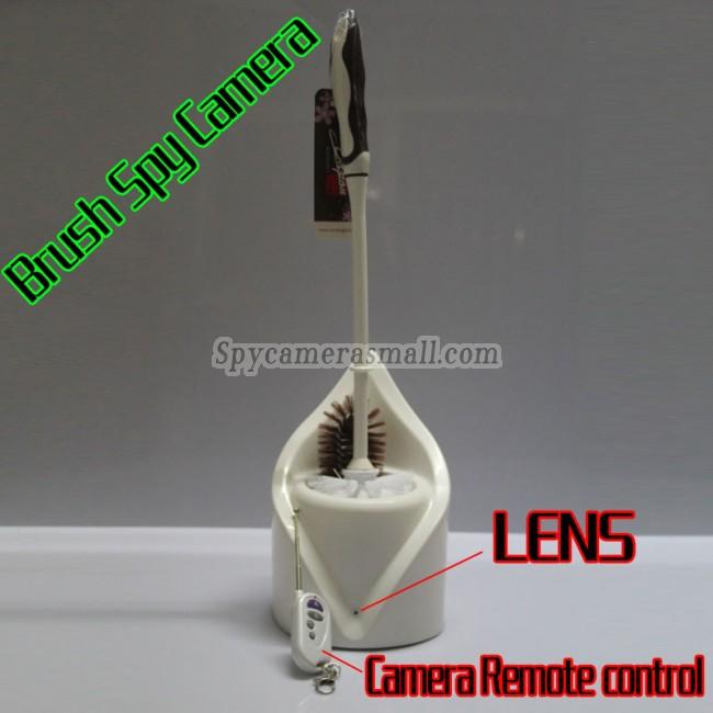 køb skjult kamera HD til toilet børste 1080P DVR 32G Bevægelsesdetektion bedste spionudstyr