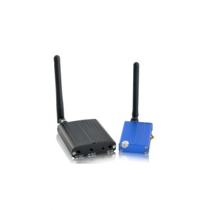spy cameras - 2.4GHz Long Range Wireless Signal Booster and Receiver, Up to 1500 Meters Distance